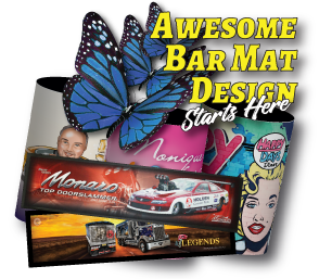 Custom Bar Mats and Bar Runners