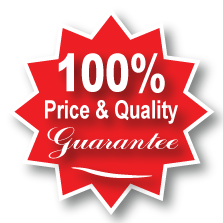 100% price and quality guarantee
